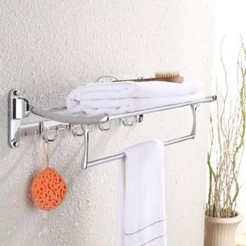 古润毛巾架不锈钢浴巾架 卫生间置物架浴室卫浴五金挂件