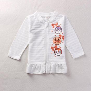 时尚休闲面包超人可爱卡通人物造型儿童防晒衣