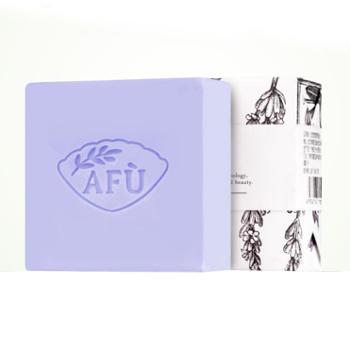 AFU阿芙薰衣草手工皂精油皂淡印洁面皂温和[100g]