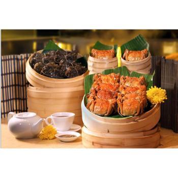 鑫阳牌阳澄湖大闸蟹598型套餐(公蟹4.0-3.5两3只,母蟹3.0-2.5两3只,6只装)