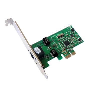DIEWU PCI-E千兆网卡Rtl8111C千兆网卡 台式机1000M pcie全高档片 正品行货,全国联保,一对一时技术支付服务