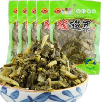 高原正宗无盐芫根酸菜泡菜原味200g*5袋