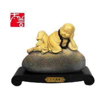 梵音大千为床现代新中式禅意佛工艺品摆件
