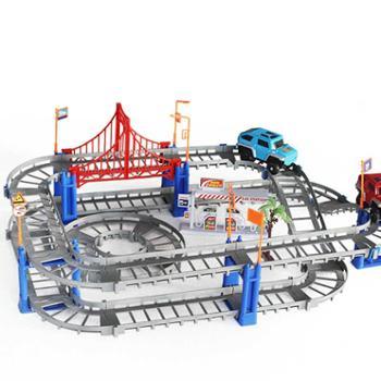 童励托马斯小火车套装轨道车电动火车儿童玩具车轨道赛车汽车男