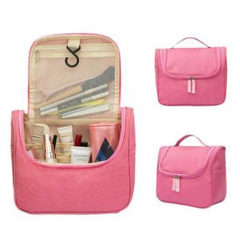 新款悬挂式洗漱收纳包 大容量手提防水洗漱包化妆品收纳包