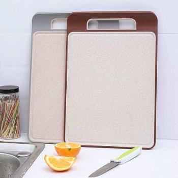 稻壳稻谷壳谷纤维菜板创意家用防霉切菜板厨房砧板沥水槽防滑厨房用具