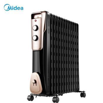 美的油汀取暖器家用11片暖风机办公室电暖气生活用品
