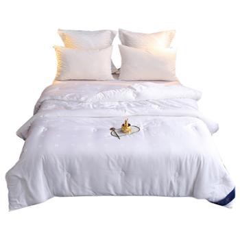 远梦生态蚕丝柔润被冬被冬季保暖四季通用床上用品双人暖冬被榨蚕丝被子2m2.2m被芯