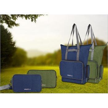 维仕蓝魔法精灵折叠两用手提包/单肩挎包/斜挎包