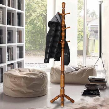 创意落地衣帽架实木挂衣架客厅卧室衣架