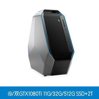 外星人AlienwareR5area51-7958游戏台式机电脑GTX1080Ti11G独显/双硬盘/32G