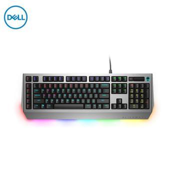 外星人AlienwarePro游戏键盘AW768有线键盘机械/茶轴/全键无冲/15个宏按键/AlienFX灯效13个区域