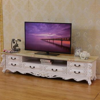 欧式实木电视柜新古典电视柜法式实木电视柜后现代电视柜2118
