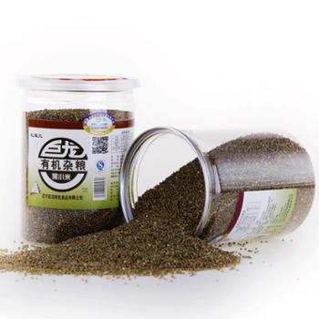 巨龙有机黑小米罐装400g 辽宁特产 有机杂粮