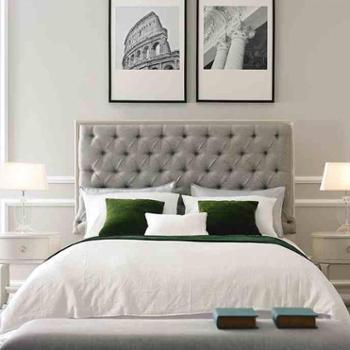 艾美家具欧式舒雅风格实木床欧式全套家具购买工厂直销
