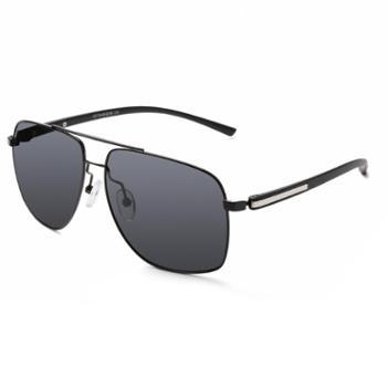 TILU天禄眼镜时尚偏光经典款太阳镜方框形复古R00331