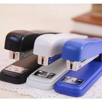 得力中型普通订书机中号通用订书器中型装订办公12# 可订20页 一只价