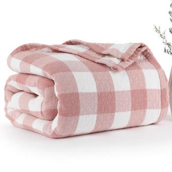南极人毛巾被子纯棉双人单人毛巾毯子成人儿童纱布午睡夏季凉薄款