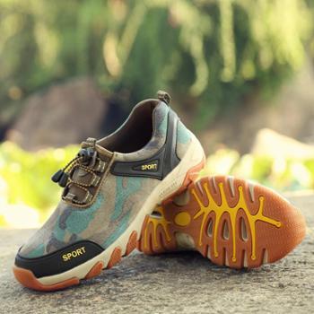耶斯爱度(yesado)耶斯爱度日常户外运动男鞋登山徒步鞋耐磨减震越野鞋(OAT6602)