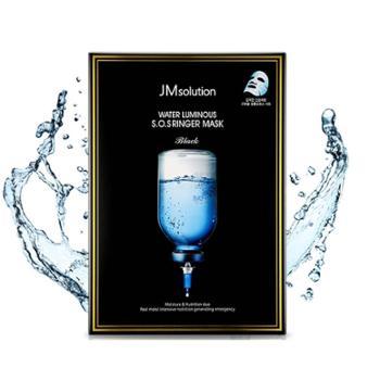 JMsolution肌司研韩国滋养水盈补水面膜(黑臻版)