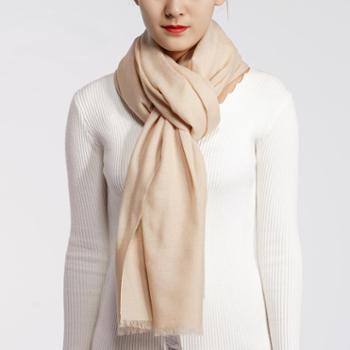 恩德兰派秋冬新款羊毛围巾时尚百搭围巾多功能超大披肩女