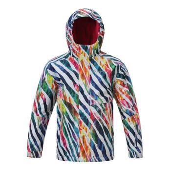 阿尔派妮AlpinePro儿童专业限量版炫彩双板滑雪服专业雪服KJCF025