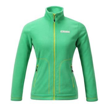 布拉格阿尔派妮AlpinePro新品女款摇粒绒复合抓绒衣开衫LSWD055