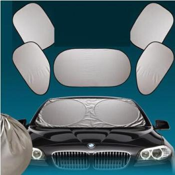 8090夏季7件套汽车遮阳挡全车太阳挡套装遮阳用品套装