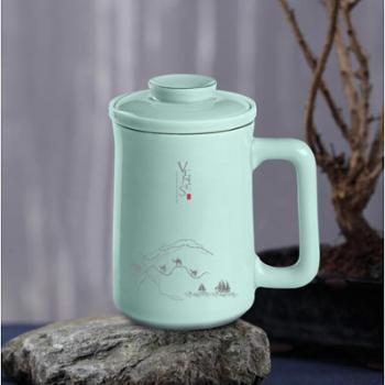 菲驰-玺玉养生青瓷杯