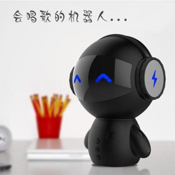 机械战警 机器人蓝牙音响 充电宝无线迷你插卡低音炮
