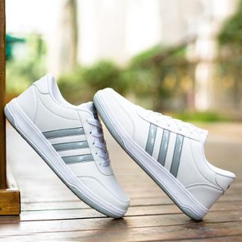 春季新款男鞋帆布鞋男士韩版潮流休闲学生鞋白色平底运动板鞋潮鞋