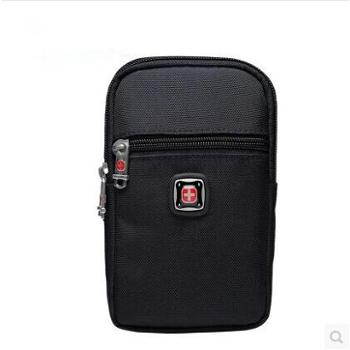 瑞士军刀男士腰包穿皮带5.56.5寸华为手机包户外挂包多功能男包