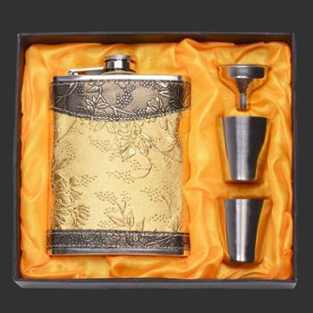 西派随身户外便携式男士不锈钢俄罗斯小酒壶8盎司7盎司4盎司