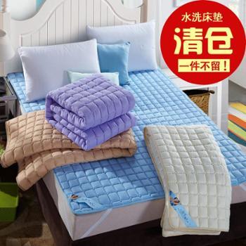 水洗床垫学生宿舍榻榻米海绵褥子可折叠单双人垫被1.5m1.8米床褥