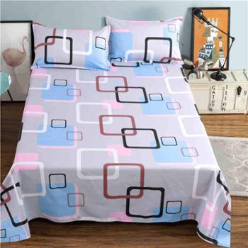 金柒床单单件学生宿舍床单1.8米双人床单被单单人床1.5m1.6/2.3米