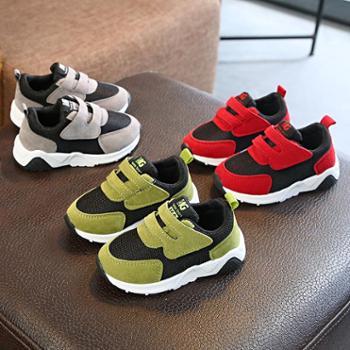 秋季新款儿童透气网鞋男女童运动鞋韩版小宝宝软底学步单鞋1-3岁