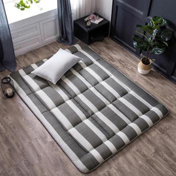 加厚床垫单人双人海绵褥子垫被学生宿舍1.5M床可折叠榻榻米床褥