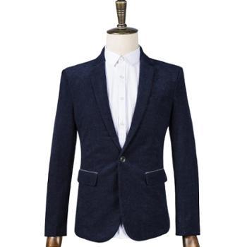 男士外套小西服男休闲西装男韩版修身单上衣FNM8907