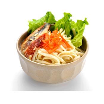 日式木纹汤面碗