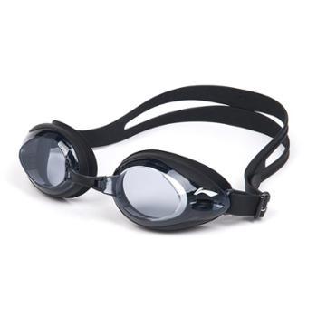李宁泳镜高清防水防雾女士游泳眼镜平光近视大框泳镜男623