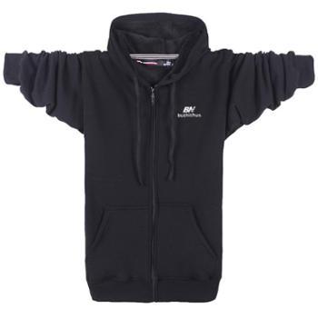 Aeroline秋冬新款绒衫长袖休闲厚款宽松保暖开衫卫衣