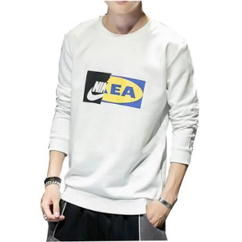 Aeroline卫衣男士秋季韩版宽松休闲时尚青少年上衣服长袖t恤男款卫衣