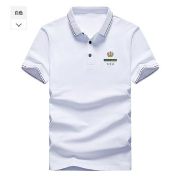 Aeroline夏季男短袖翻领修身常规款T恤