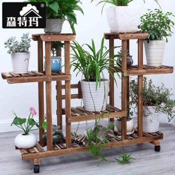 铁艺花架多层落地式阳台花盆架绿萝花架子客厅简约吊兰花架几特价