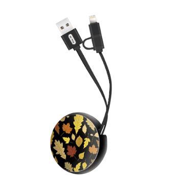 XO 3D浮雕彩绘双USB充电头 NB56