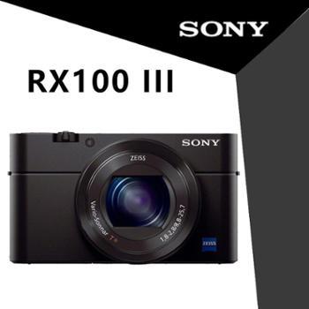 索尼(sony)RX100 M3 黑卡三代 数码相机 索尼rx100m3