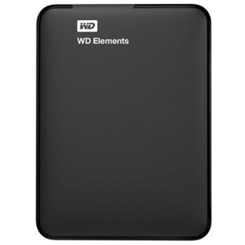 【24期免息】西部数据(WD)USB3.0 Elements 新元素 移动硬盘 2.5英寸 500GB\1TB\2TB\3TB 西数移动硬盘