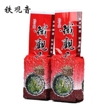 新茶春茶铁观音浓香型铁观音乌龙茶叶散装袋装500克正品手工茶