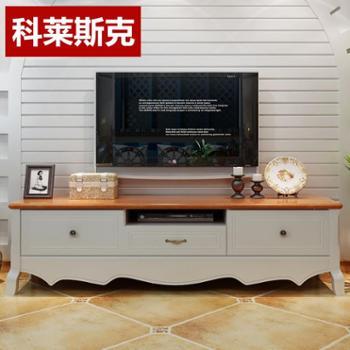 科莱斯克地中海实木电视柜储物柜