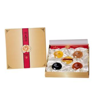 洛妃琪--5片礼盒牡丹+黄金+麦饭石+红参+竹炭(手工皂)